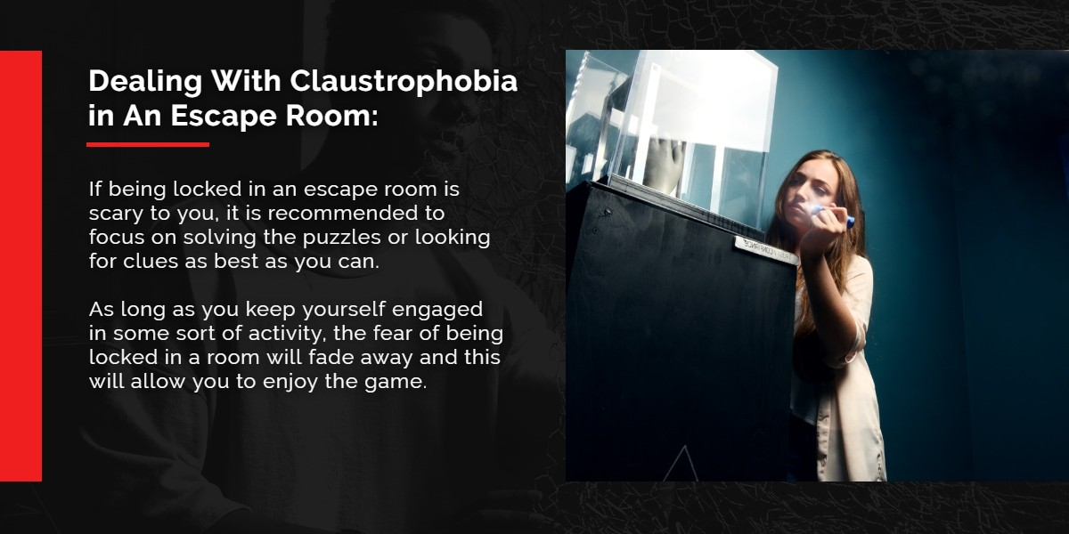 Dealing with Claustrophobia in an Escape Room | A/Maze Ottawa