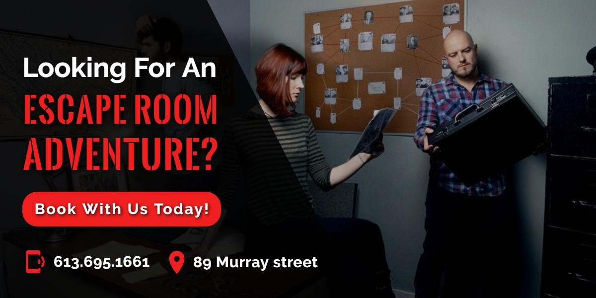 Looking for an Escape Room Adventure? | A/Maze Ottawa