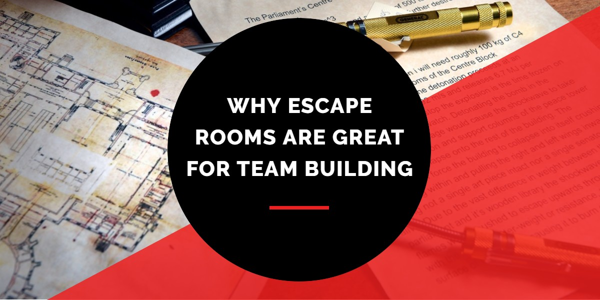 Why escape rooms are great for team building | A/Maze Ottawa