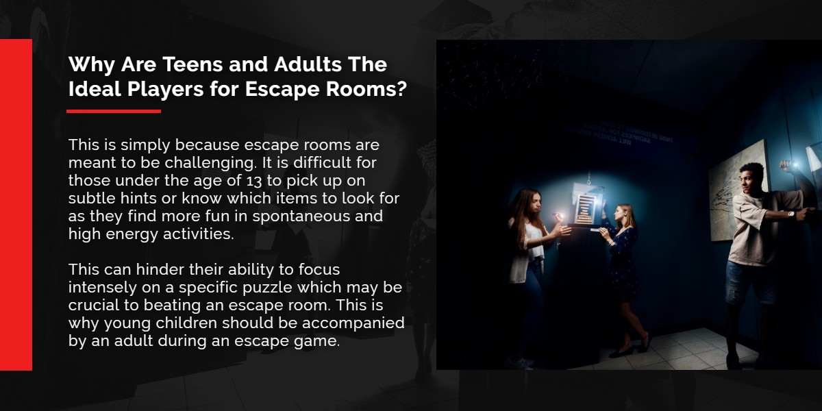 Why are teens and adults the ideal players for Escape Rooms? | A/Maze Ottawa