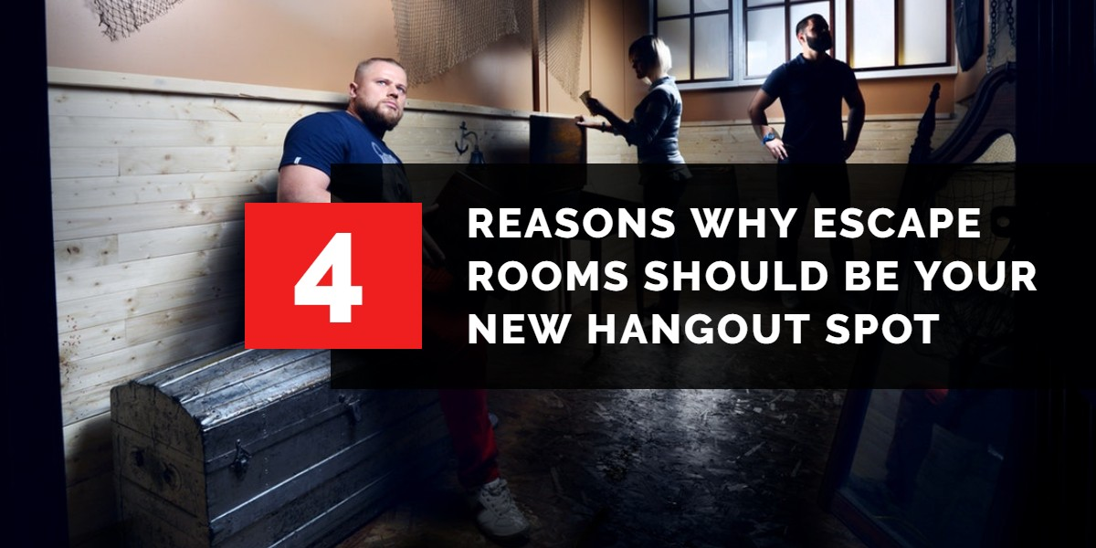 4 Reasons Why Escape Rooms Should be Your New Hangout | A/Maze Ottawa