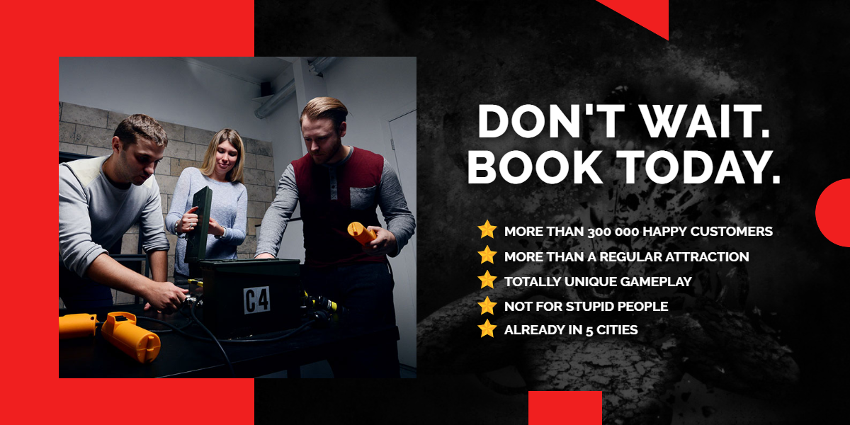 Don't wait. Book today. | A/Maze Ottawa