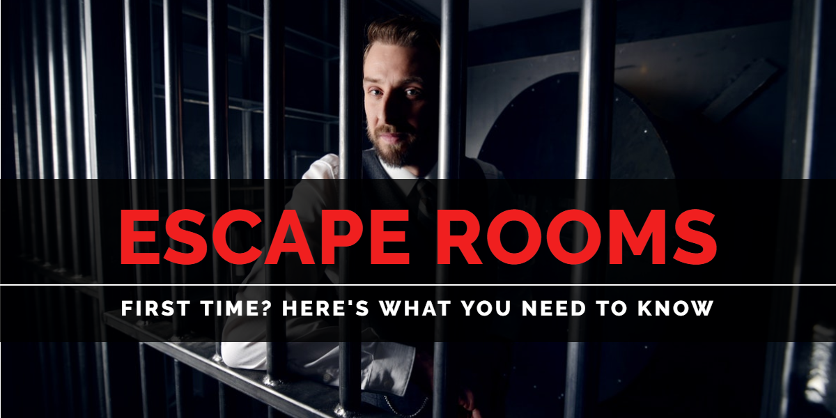 Escape Rooms | Man locked behind bars | A/Maze Ottawa