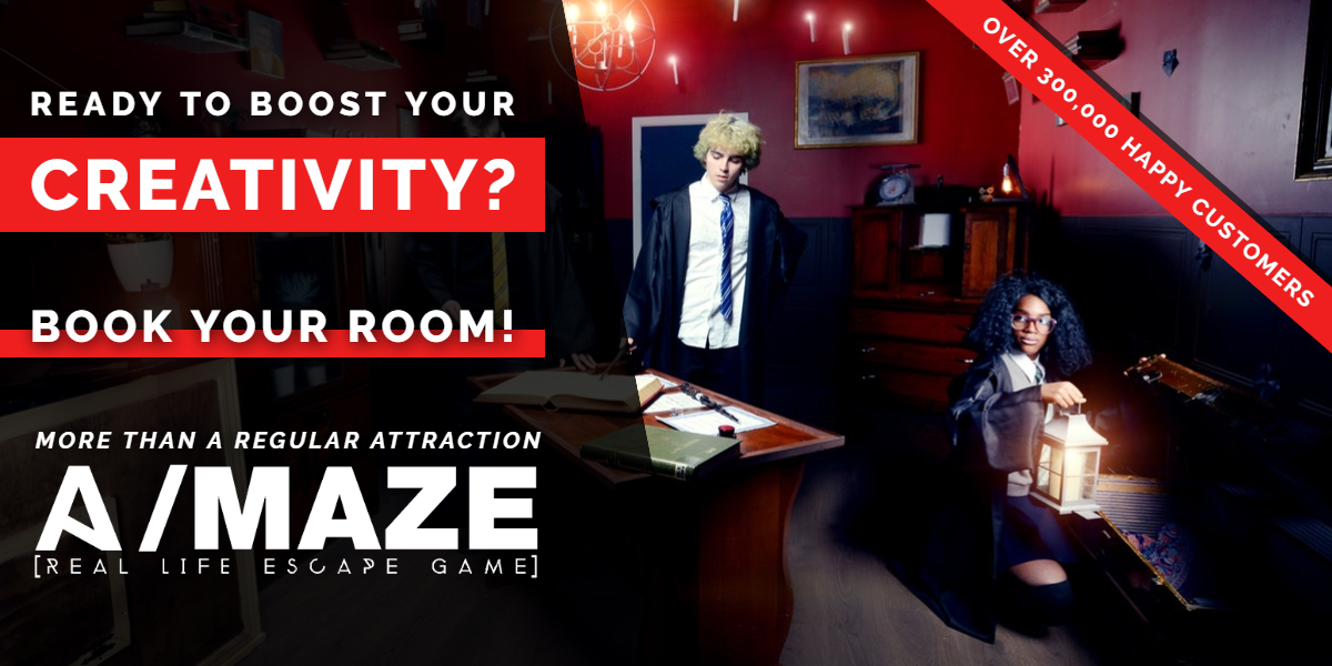 Ready to boost your creativity? | A/Maze Ottawa